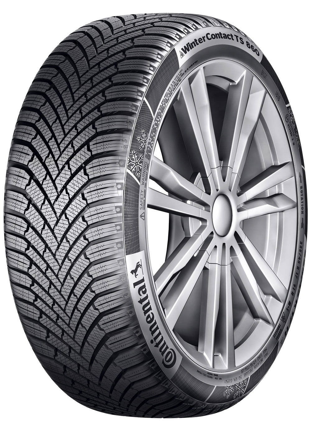 CONTINENTAL WINTER CONTACT TS860 215/45R16 90V XL